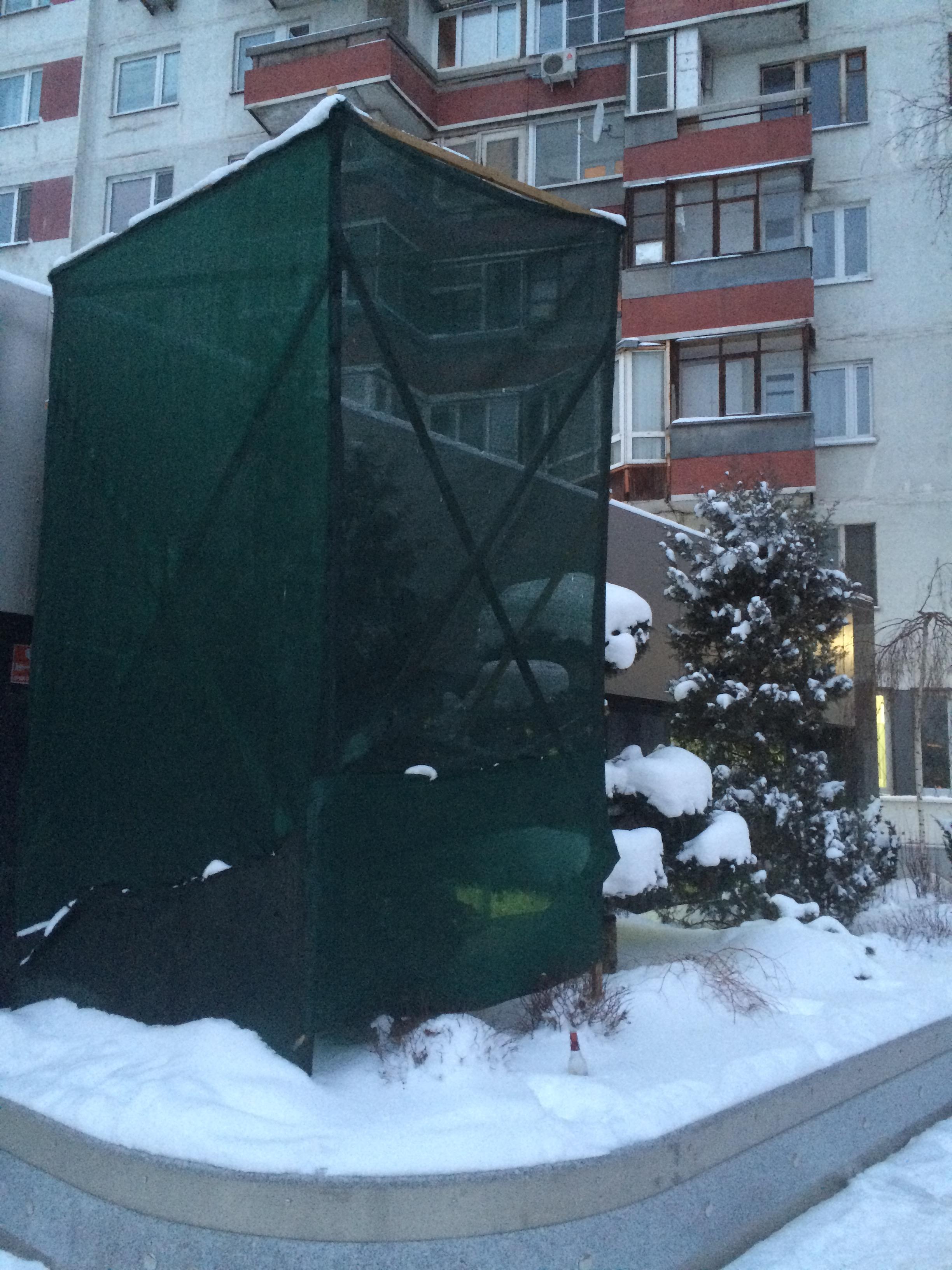 Купить затеняющую пластиковую сетку в Москве от компании «Оптимальное соотношение».